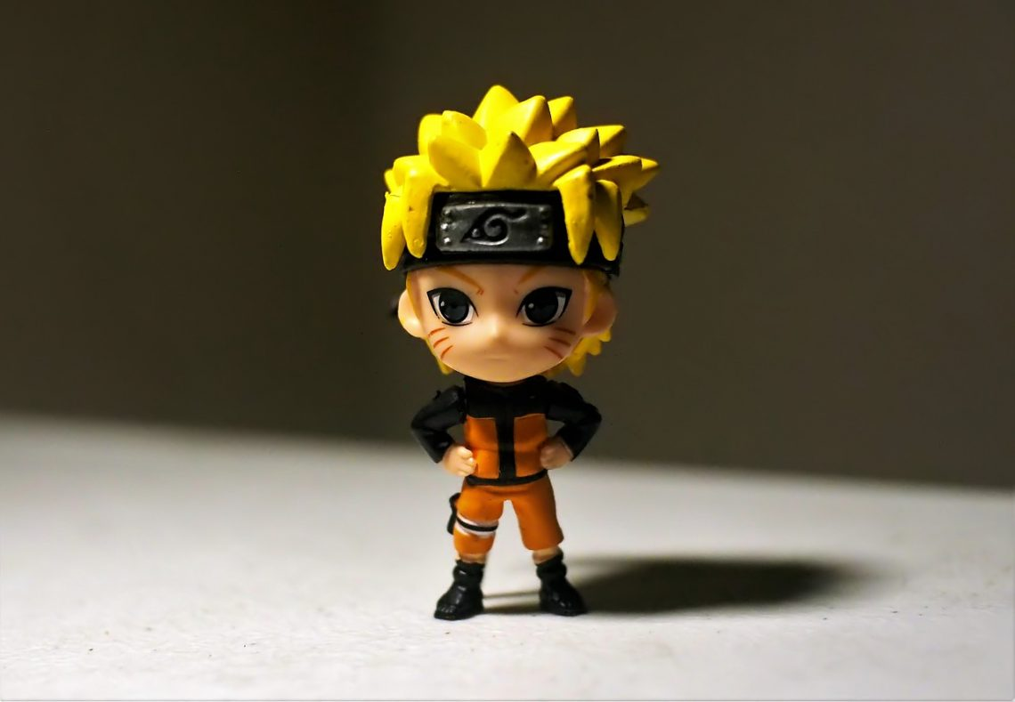 produits dérivés Naruto